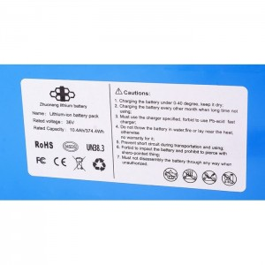 Bateria akumulator 10.4 Ah/36V do hulajnogi elektrycznej U5 URBIS