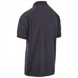 Koszulka polo techniczna męska BONINGTON TP100 TRESPASS Dark Grey