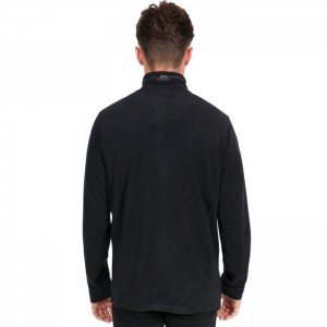 Polar męski full-zip TADWICK TRESPASS Black