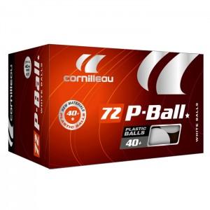 Piłeczki do tenisa stołowego (72 szt.) P-BALL* CORNILLEAU