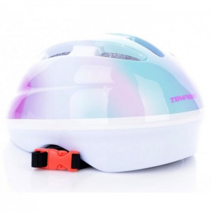KASK ROWEROWY JUNIOR RAYBOW GIRL TEMPISH