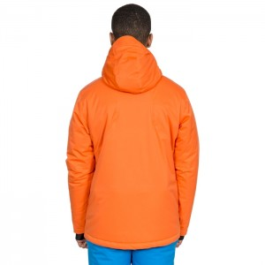 Kurtka narciarska męska BANNER DLX TRESPASS Orange