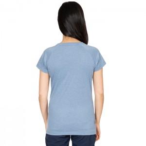 Koszulka treningowa damska BENITA TRESPASS Denim Blue Marl