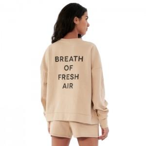 Bluza bez kaptura damska HOL21-BLD616 83S OUTHORN