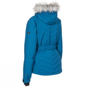 Kurtka narciarska damska CAMILA TP75 TRESPASS Cosmic Blue