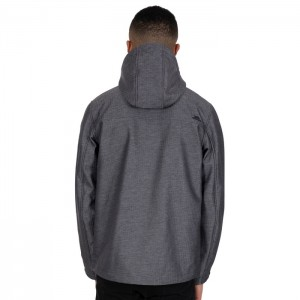 Kurtka softshell męska CARTER TP75 TRESPASS Grey Texture