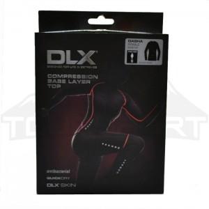 Koszulka treningowa kompresyjna damska DASHA DLX TRESPASS Black