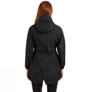Płaszcz przeciwdeszczowy damski DAYTRIP TP50 TRESPASS Black