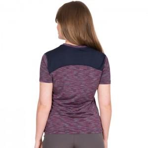 Koszulka techniczna damska ETTA DLX TRESPASS Berry Strip