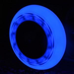 KÓŁKA DO ROLEK ŚWIECĄCE 2 szt. FLASHING 76mm/85A BLUE TEMPISH