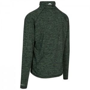 Koszulka treningowa 1/2 zip męska GERRY TP75 TRESPASS Bright Green Fleck
