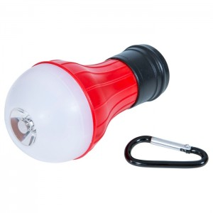 LATARKA LED KEMPINGOWA DO NAMIOTU GLOW WORM RED TRESPASS