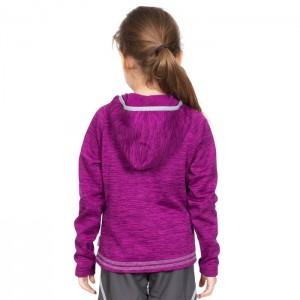 Bluza polarowa dziecięca GOODNESS TRESPASS Purple Orchid Marl