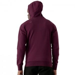 Bluza męska z kapturem H4Z21-BLM029 60S 4F