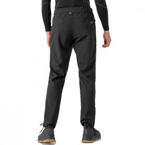 Spodnie trekkingowe softshell męskie H4Z21-SPMT001 20S 4F