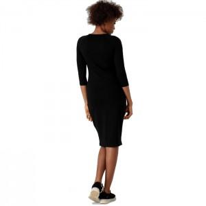 Sukienka ołówkowa midi damska H4Z21-SUDD015 20S 4F