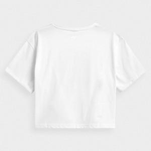 Koszulka damska crop top H4Z21-TSD029 10S 4F