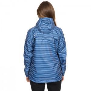 Kurtka przeciwdeszczowa damska pakowana INDULGE TP75 TRESPASS Blue Moon Stripe