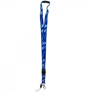 Smycz na szyję na ski-pass identyfikator LANYARD TRESPASS