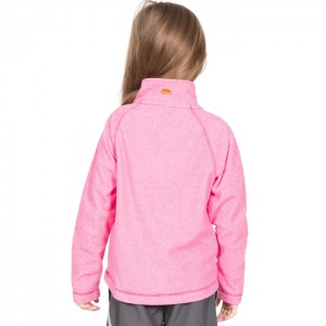 Polar dziecięcy 1/2 zip MEADOWS TRESPASS Pink Lady