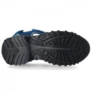 Sandały zabudowane dziecięce NANTUCKET TRESPASS Navy/Kiwi