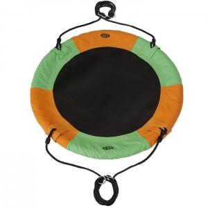 Huśtawka bocianie gniazdo NB5003 90cm NILS CAMP Orange-Green