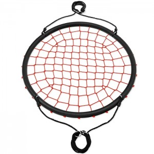 Huśtawka bocianie gniazdo 100cm NB5038 NILS CAMP Red