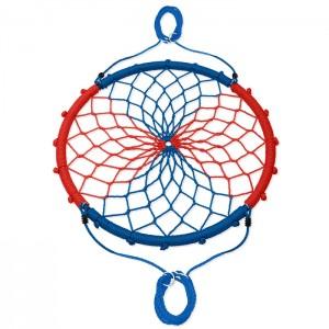 Huśtawka bocianie gniazdo NB5039 100cm NILS CAMP Blue-Red