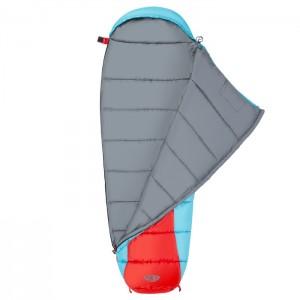 Śpiwór turystyczny mumia NC2012 NILS CAMP Czerwono-Niebieski
