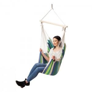 Krzesło brazylijskie hamak NC3106 NILS CAMP Green