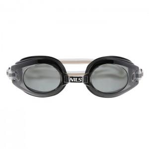 Okulary pływackie dla seniorów 1300 AF 06 NILS AQUA Czarny