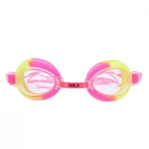 Okulary pływackie dla dzieci 173 AF NILS AQUA Różowy