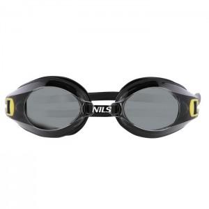 Okulary pływackie dla seniorów A-1 AF 01 NILS AQUA Czarny