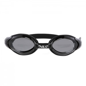 Okulary pływackie dla seniorów KOR-2 AF 16 NILS AQUA Czarny