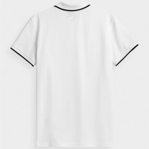 Koszulka polo męska NOSH4-TSM357 10S 4F