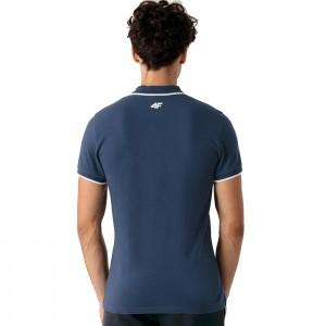 Koszulka polo męska NOSH4-TSM357 32S 4F