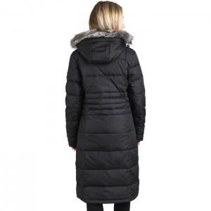 Płaszcz puchowy zimowy damski PHYLLIS TRESPASS Black