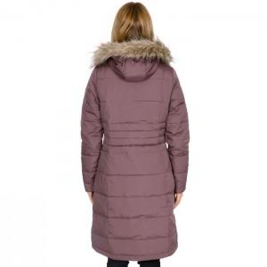 Płaszcz puchowy zimowy damski PHYLLIS TRESPASS Dusty Heather