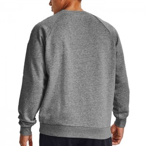 Bluza bez kaptura męska RIVAL FLEECE CREW 1357096-012 UNDER ARMOUR