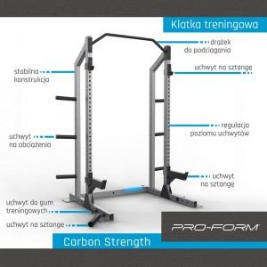 klatka treningowa CARBON STRENGTH PRO-FORM