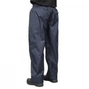 Spodnie przeciwdeszczowe męskie pakowane QIKPAC PANT TP75 TRESPASS Dark Navy