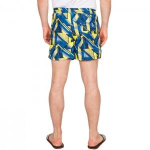 Spodenki szorty kąpielowe męskie RAND TRESPASS Blue Print