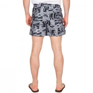 Spodenki szorty kąpielowe męskie RAND TRESPASS Grey Print