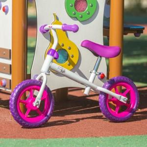 """Rowerek biegowy dziecięcy RB102 10"""" NILS EXTREME White"""