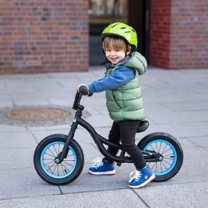 """Rowerek biegowy dziecięcy RB202 12"""" Nils Extreme Black"""