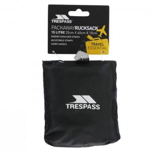 Plecak miejski pakowany 15L REVERSE TRESPASS Black