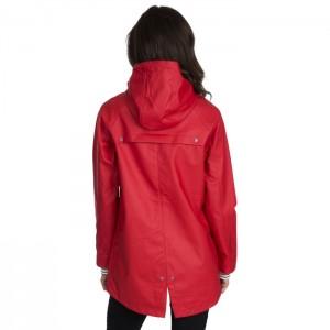 Kurtka przeciwdeszczowa sztormiak damska SHORELINE TP50 TRESPASS Red