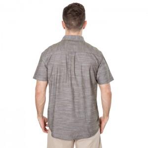 Koszula męska z krótkim rękawem SLAPTON TRESPASS Moss