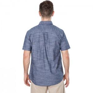 Koszula męska z krótkim rękawem SLAPTON TRESPASS Navy