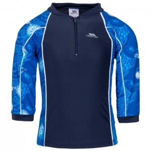 Kostium kąpielowy dwuczęściowy chłopięcy SMILEY TP50 TRESPASS Blue Print